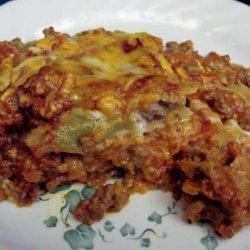 Paula Deen's Baked Beef Enchilada Casserole recipe