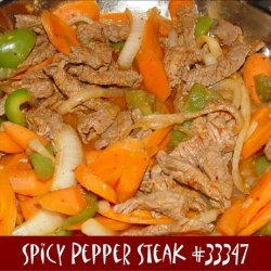 Spicy Pepper Steak recipe