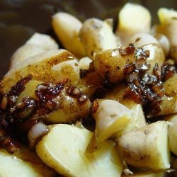 New Potatoes With Balsamic and Shallot Butter