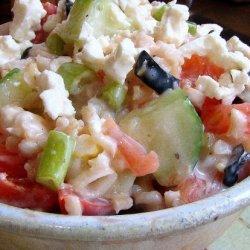 Greek Rice & Feta Salad