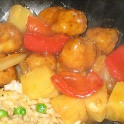 Sweet & Sour Popcorn Chicken recipe