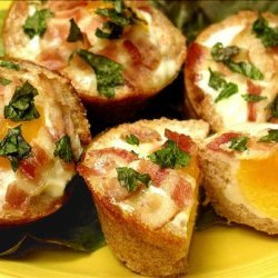 Egg and Bacon Tarts
