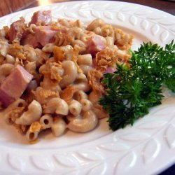 Irene Stewart's Ham & Macaroni Casserole