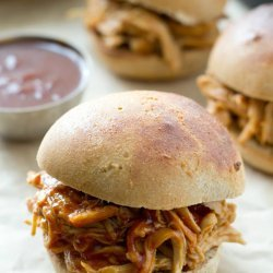 Pulled BBQ Chicken - Slow Cooker