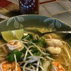 Faux Chicken and Shrimp Pho
