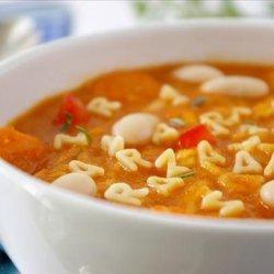 Healthy Alphabet Soup