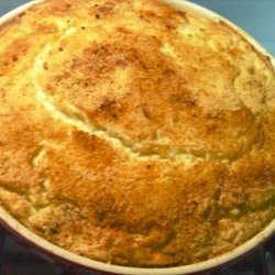 Duchesse Mashed Potato-Mushroom Puff