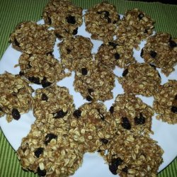Healthy Banana Oatmeal Sponge Cookies for Kids