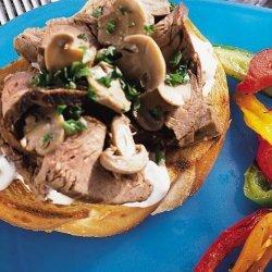 Cheese Mushroom Steak