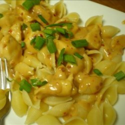 Ginger Peanut Chicken Pasta