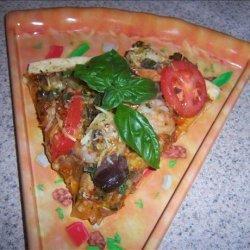 The Queen of Pizzas (Gourmet Shrimp Pizza) recipe