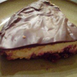 Easy Chocolate Raspberry Cheesecake