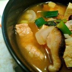 Kimchi Jjigae (Korean Kimchi Soup) recipe