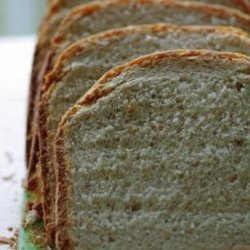 Bread Machine Whole Wheat Bread (Low Fat)