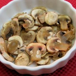 Tipsy Fat-Free Microwave -Sauteed Mushrooms