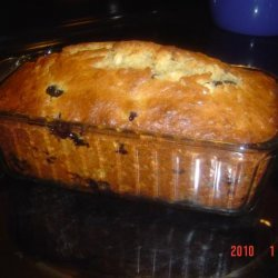 Healthy Blueberry-Banana Bread