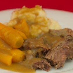 Beef Pot Roast in Crock Pot / Slow Cooker