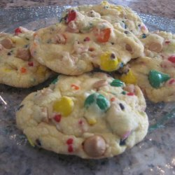 Rainbow Cake Mix Cookies - Aka Party-Cake Cookies recipe