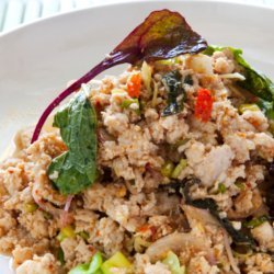 Larb Gai - Spicy Thai Chicken Salad