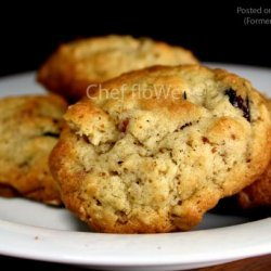 Oatmeal-Cranberry-Almond Cookies