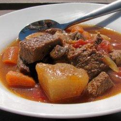 Leftover Roast Beef  Stew