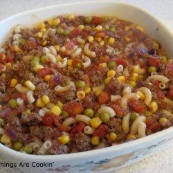 Hamburger Corn Casserole