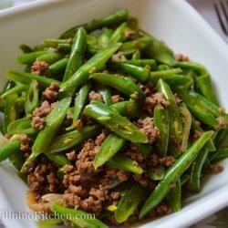 Green Beans With Ground Beef
