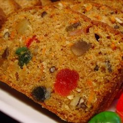 Carrot Cake - Fruited Carrot Loaf or Christmas Muffins