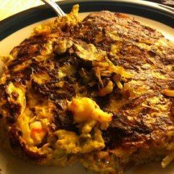 Shrimp Egg Foo Yong  (Low Carb and Low Fat)