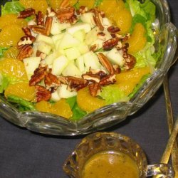 Spinach/Romaine Salad With Poppy Seed Dressing & Mandarin Or