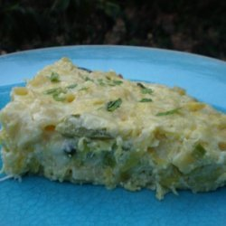 Zucchini Pasta (Baked)