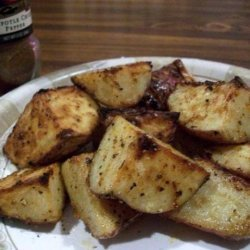 Spicy Baked New Potatoes recipe