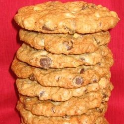 Not Your Ordinary Chocolate Chip Cookies (Liqueur Laced)