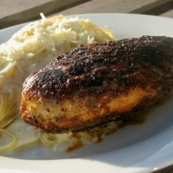 Blackened Chicken Pasta With Alfredo Sauce