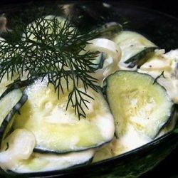 German Deli Cucumber Salad (Gurkensalat)