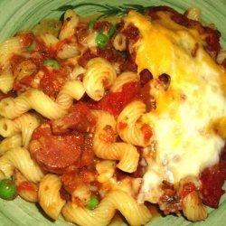 Quick & Easy Zesty Italian Penne Pasta Bake recipe
