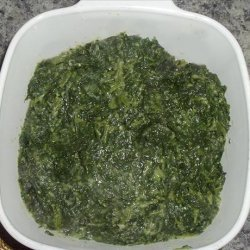 10 Minute Creamed Spinach