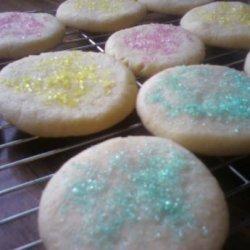 Vegan Soft Sugar Cookies