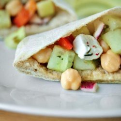Chickpea Salad Pitas