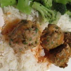 Rachael Ray's Buffalo Chicken Meatballs