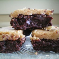 Dark Chocolate Peanut Butter Brownies recipe