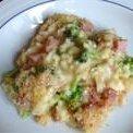 Ham Broccoli Rice and Cheese Casserole