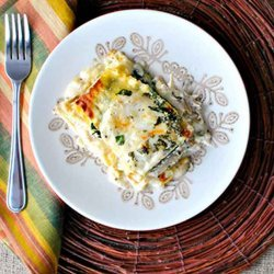 White Sauce Chicken Lasagna