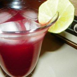 Cranberry Lime Ricky