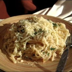 Pasta With Lemon, Pepper and Parmigiano