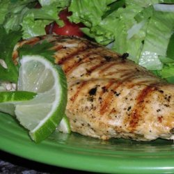 Grilled Chicken With Cilantro Marinade