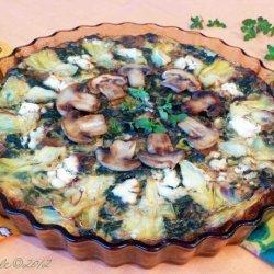 Spinach and Artichoke Pie - Ww Core