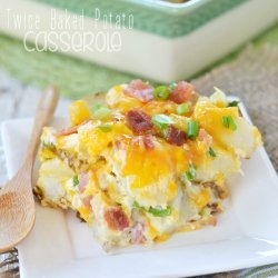 Twice- Baked Potato Casserole