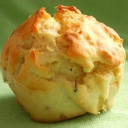Savoury Muffins With Feta Cheese, Onion and Rosemary