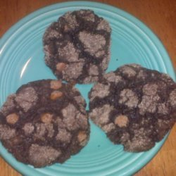 Chunky Chocolate Cake Mix Cookies